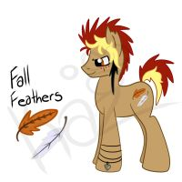 Fall Feathers Pony Adoptable Auction(CLOSED) by KazzysArtStudio