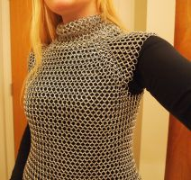 Custom Chainmaille top for Chandra Cosplay by ofmyhats