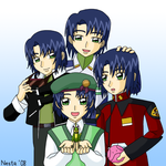 The Growth of Athrun Zala by tailchan