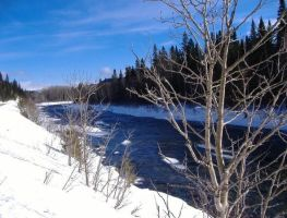 Blue River by Graphitation