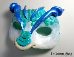 Ice Dragon Mask by SpaceTurtleStudios