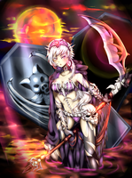 Magic Knight Contest: Death Maiden by jhustinian