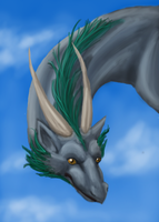 dragon speedpaint by saphariadragon