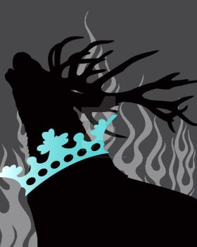 Game of Thrones Baratheon SILVERaqua by Dragonrose247