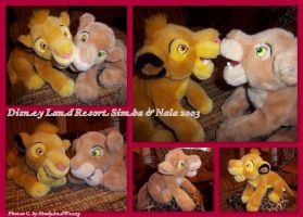 Disney Land Resort Simba And Nala 2003 by DoloAndElectrik