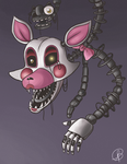FNAF - the Mangle Print Available by ms-aibee