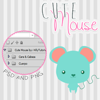 +Cute Mouse - By: Hillytutorials by HillyTutorials