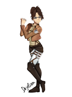Commission: Hanji Zoe by Dajelisen