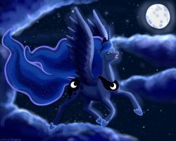 Queen of the night by AstralAnomaly