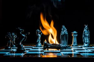 Checkmate - The King is dead by mib4art