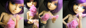 Cotton Candy for Dolls by GrandmaThunderpants