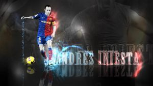 Wallpaper Andres Iniesta 09 by UntouchedDesigns