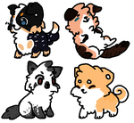 OTA Puppy adoptables by Cloud-cakesx