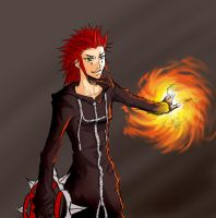 7 and 8 of 10: Axel by pen-gwyn