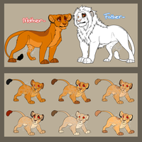 Lion Family Adoptables 2 .:Open:. by Inori-Hime