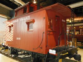 Lehigh Valley Bobber Caboose by rlkitterman
