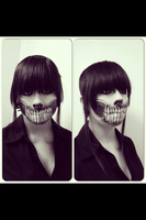 Monster make-up by SophieSalinas