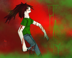 CreepyPasta Roleplay Character by MidnightDash2137