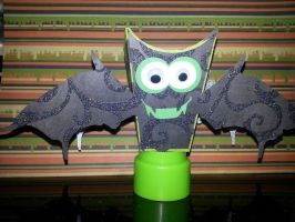Bat Popcorn Treat Box by UniqueDesignByMonica
