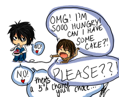 L and Light- Cake by i-SkEtCh-YoU
