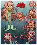 Siren's Skeleton, Blood, and Siren-only illnesses by Icy-Snowflakes