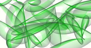 Green Abstract by mojomcm