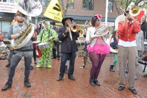 2014 Honk Festival, Music In the Square 14 by Miss-Tbones