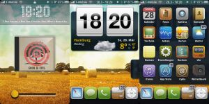 My iPhone Theme - April 2010 by Jannomag