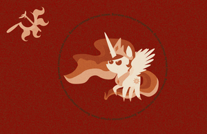 Mother Equestria Flag Communist Propaganda Edition by TourniquetMuffin