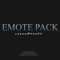 Predesigns emoticon pack by system16