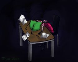 Zim Hates School by I-Luv-Wolves