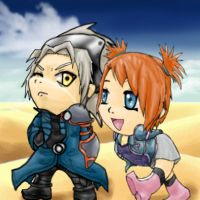 Chibi Seth and Rui by Kurayami-no-Kitsune