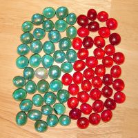 Pente Glass Game Pieces 08 by FantasyStock