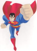 Superman Paper Cutout by say-andy