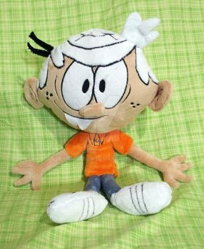 16'' Lincoln Loud Plushie by AppleDew