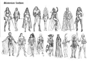character costumes by yacermino
