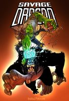 Savage Dragon VS Brainiape III by timshinn73