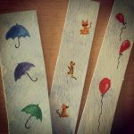 watercolor bookmarks by CiceroVanStain