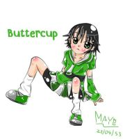 Powerpuff Girls - Buttercup by mayza2539