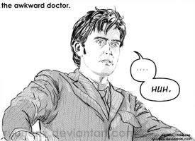 dr. who--the awkward doctor. by ryuuenx