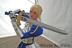 Saber - FateStay Night by melissa-andrade
