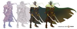 Drizzt Do'Urden by MabaProduct