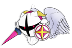 Galacta Knight Pendant by Whisperspirit