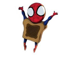 Spidey toast by VocaloidMuhyo