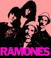 the RAMONES by GABOGRAFICO