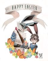 Happy Easter by MilieNugget