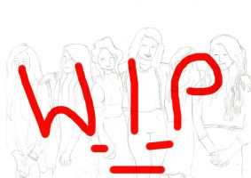 Commision WIP by SillyArtist
