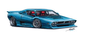 Nissan Skyline Kenmeri Grand Sport by vsdesign69