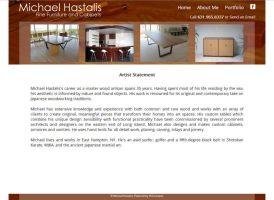 MichaelHastalisWoodworking.com by VSConcepts