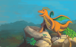 Dragonite by DrManiacal
